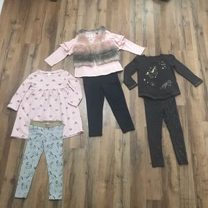 ✨3T ADORABLE CARTERS UNICORN OUTFITS✨